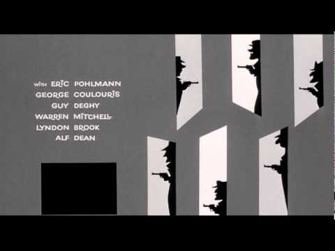 Surprise Package (1960) title sequence - Maurice Binder