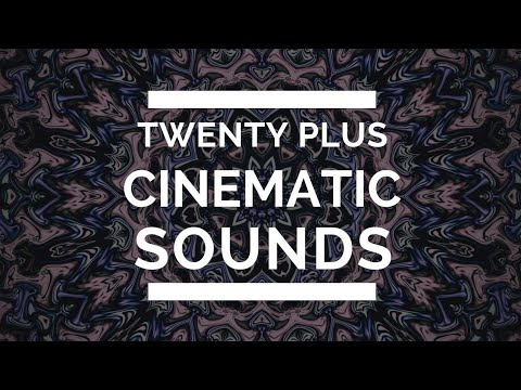 Twenty plus Cinematic Sounds Effects free to use