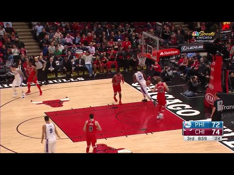 3rd Quarter, One Box Video: Chicago Bulls vs. Philadelphia 76ers