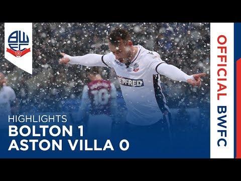 HIGHLIGHTS | Bolton Wanderers 1-0 Aston Villa