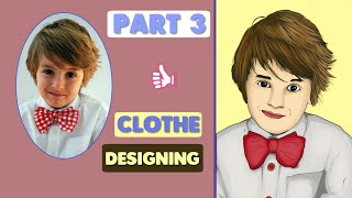 Vector Art step by step in INFINITE DESIGN || Clothe Designing || Part-3 || Techknowinfinity
