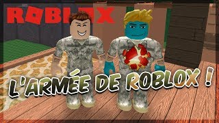 ON REJOINT L'ARMEE DE ROBLOX ! - Obby Army Training