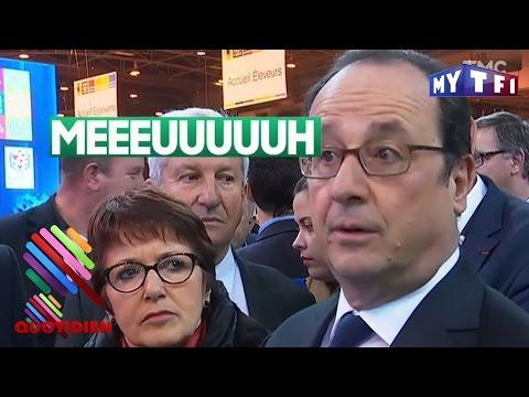 Le marathon de François Hollande au salon de l'agriculture 2017 - Quotidien du 27 Février