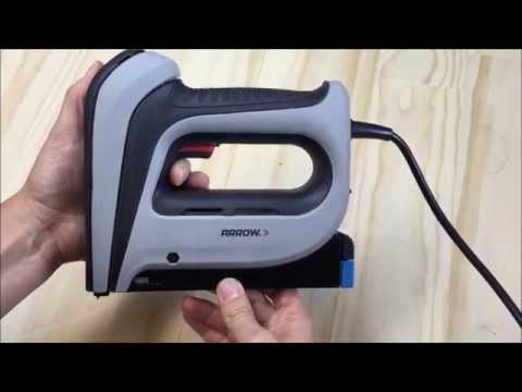 How to load Arrow Electric Staple Guns