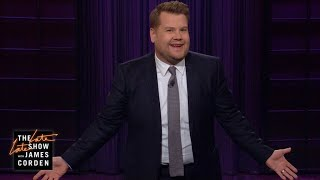 James Corden Recaps Hosting the GRAMMYs