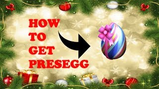 Roblox Egg Hunt 2018 How to Get the Presegg!