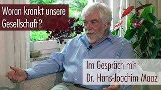 Dr. Hans-Joachim Maaz: