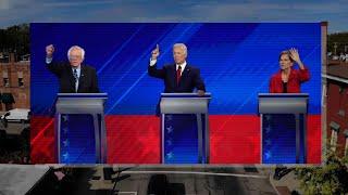 Impeachment, health issues swirl around Dem debate