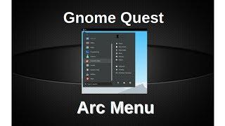 Arc Menu - Nice Application Launcher
