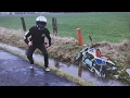 Honda Z50R groupride with CRASH