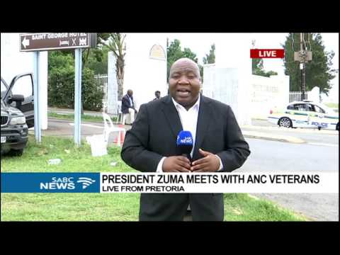 UPDATE: Meeting between President Zuma and ANC veterans underway