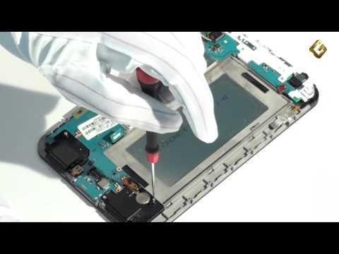 Samsung Galaxy Tab P1000 - как разобрать планшет и из чего состоит