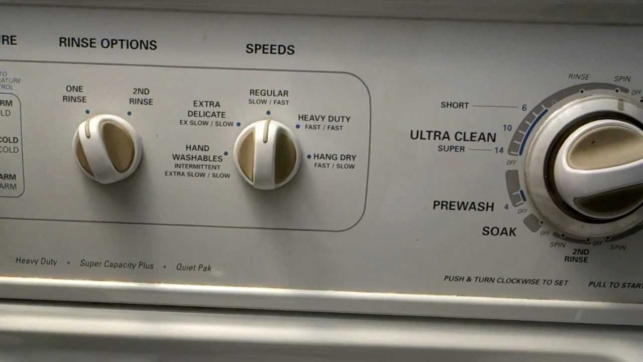 Kenmore 90 Series Washer Grinding Noise During Spin Cycle