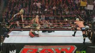 Mr Kennedy & Finlay vs Jeff Hardy & Rey Mysterio