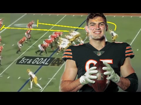 Film Study: Cole Kmet is a TREMENDOUS prospect for the Chicago Bears