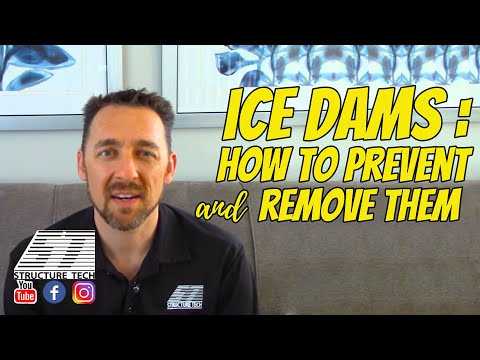 Ice Dams: How To Prevent Them, How To Remove Them