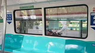[Heading East]SMRT East West Line C151B 673/674 - Bedok to Simei