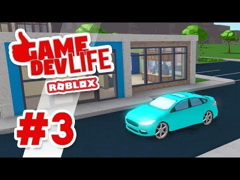 Game Dev Life #3 - BRAND NEW CAR (Roblox Game Dev Life)