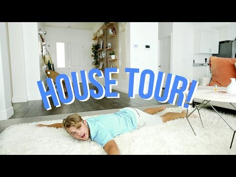 HOUSE TOUR! WELCOME TO MY CRIB!   Aspyn + Parker