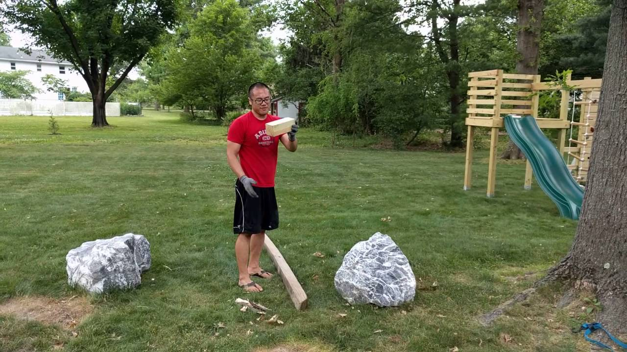 Moving Large Boulders By Hand