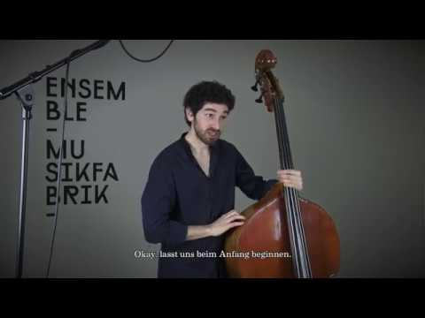 ON - Harmonic Pizzs On The Double Bass With Florentin Ginot