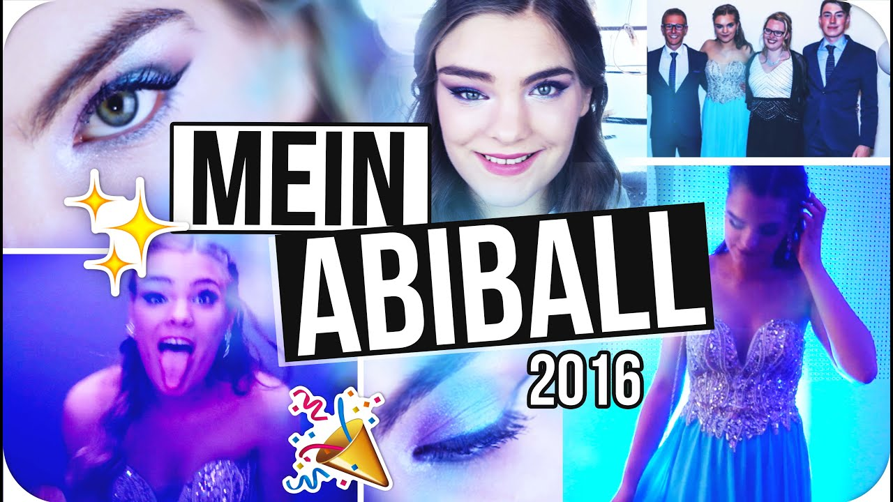 Mein ABIBALL 2016 ◇ Get Ready With Me for PROM // Kleid, Make-Up ...