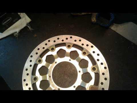 Часть 3.Восстановление тормозного диска Honda Cbr 1000rr