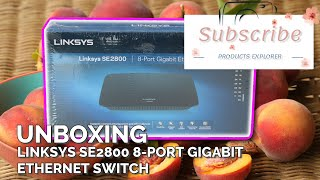 Linksys SE2800 8-Port Gigabit Ethernet Switch [Unboxing]