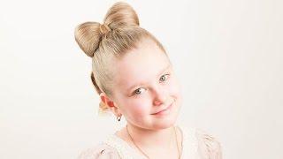 Детская прическа Бант. Bow Hairstyle(Подписывайтесь на мой канал http://www.youtube.com/user/4OXYGENE http://instagram.com/olyanaryzhnaya http://vpletaysya.ru http://vk.com/vpletaysya ..., 2015-01-11T08:53:46.000Z)