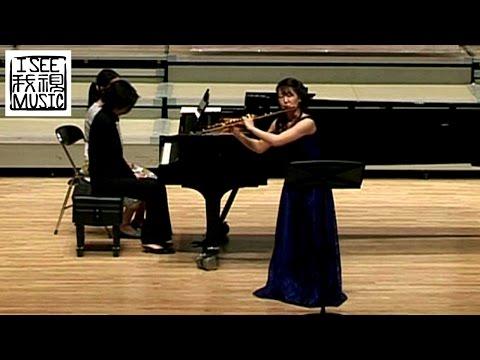 Yoshie Ueno: Claude Debussy - Syrinx (2006) / 北京尼柯莱国际长笛比赛 / 日本惠野秩序