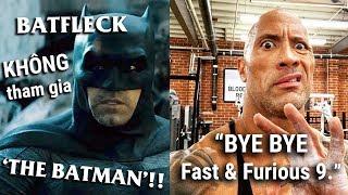 Phê Phim News: Tương lai VŨ TRỤ ĐIỆN ẢNH DC!? | FAST & FURIOUS 9 KHÔNG CÓ THE ROCK
