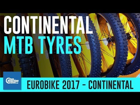 Continental mountain bike tyres 2018