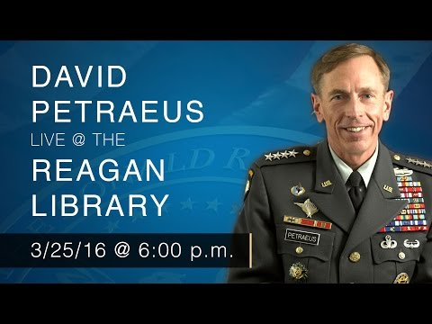 A Conversation of the State of the World with General David Petraeus — 3/25/16