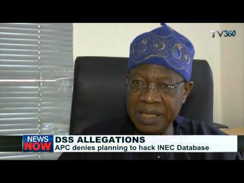 INEC database: APC denies DSS hacking allegations