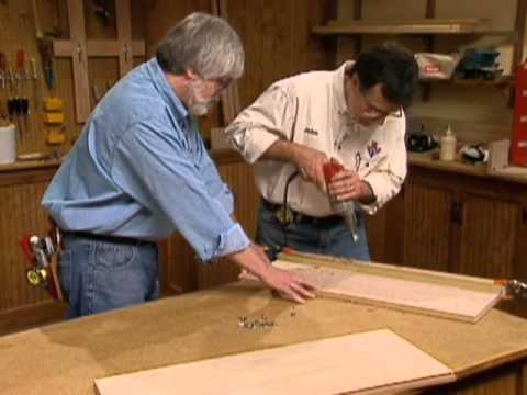 Cabinet Making Techniques Part 10: Shelf Support Holes and Joining ...