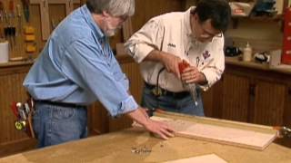Cabinet Making Techniques Part 10: Shelf Support Holes And Joining With Dowels