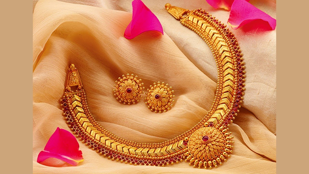 Traditional Gold Jewellery Design (Part 48) - YouTube