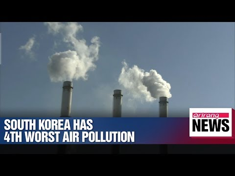 OECD ranks South Korea's air pollution in top 5 worst in the world