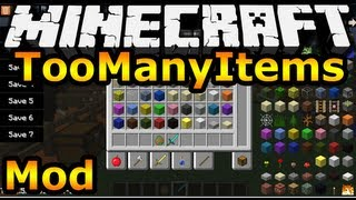 Minecraft Mods   Too Many Items Mod Review (Mod Showcase & Download)