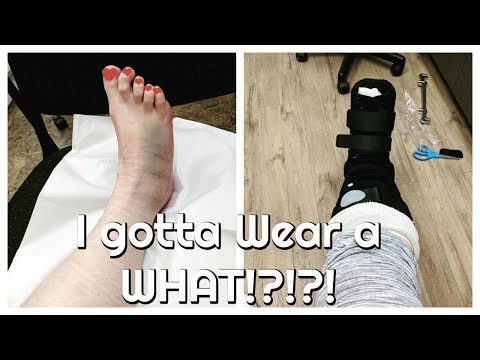Wearing WHAT for the rest of my life? Avulsion fracture Moderate Sprain