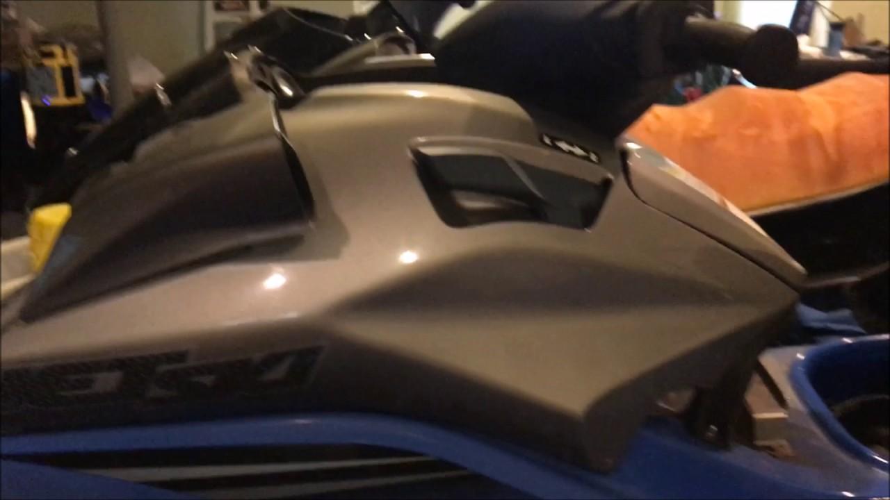 hight resolution of jetski side panel removal reverse lever lockout mod kawasaki ultra
