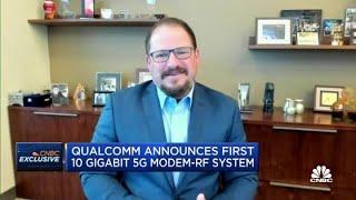 Incoming Qualcomm CEO Cristiano Amon on 5G Modem