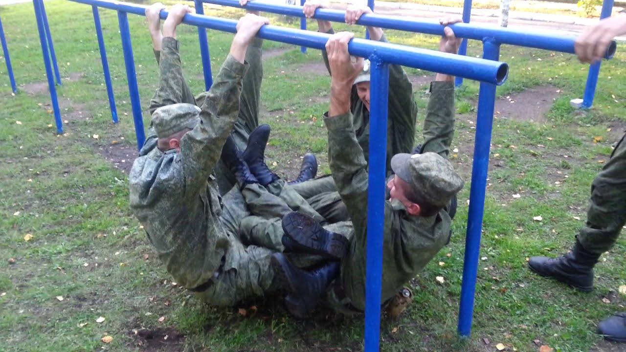 Русская армия приколы. Играем в паучка