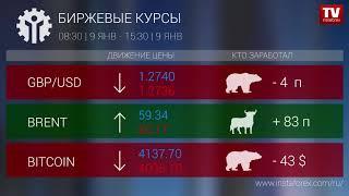 InstaForex tv news: Кто заработал на Форекс 09.01.2019 15:00