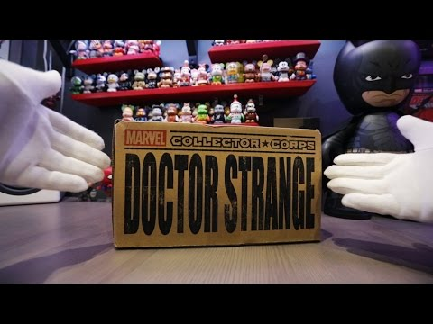 """Marvel Collector Corps """"Doctor Strange"""" Unboxing!!"""