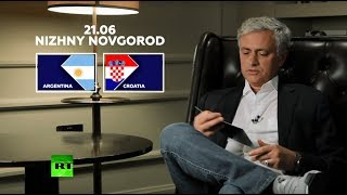 'Probably a difficult match' - Jose Mourinho discusses Argentina vs Croatia match