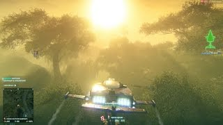 PlanetSide 2 (Ultra). Before the graphical DOWNGRADE.