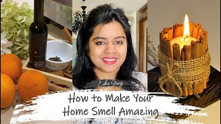 5 Ways to Make Your Home Smell Amazing | DIY Cinnamon Candle | DDbE