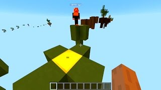 Minecraft SKY BOUNCE Parkour with Vikkstar, Preston & Brayden (Minecraft Parkour)