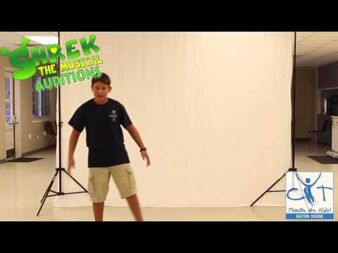 Shrek Auditions at CYT Baton Rouge